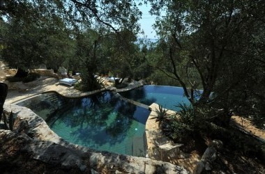 Pool - The Old Olive Press