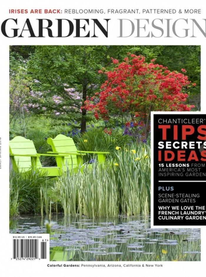 Garden Design Magazine Early Spring 2016 Cover