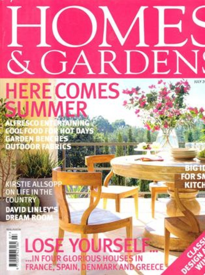 Home & Gardens Cover July 2006